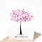 Mother's Day Card - Happy Mother's Day - Pink Pearl Cherry Blossom Tree - HMD012