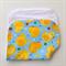 Baby Burp Cloth - Yellow Ducks on Blue