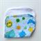 Baby Burp Cloth - Jungle Print on Blue