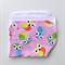 Baby Burp Cloth - Owl Print on Pink