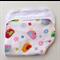 Baby Burp Cloth - Bird Print on White