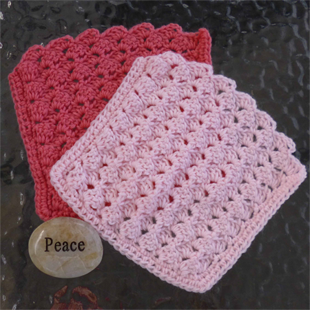 Crochet baby wash cloth, face cloth, face washer, dish cloth, eco gift