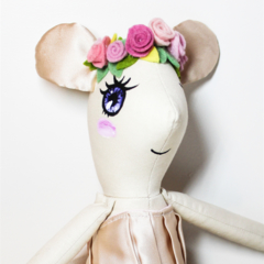 Little mouse toy doll softie