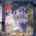 Upcycled Vintage Sheet Patchwork Quilt
