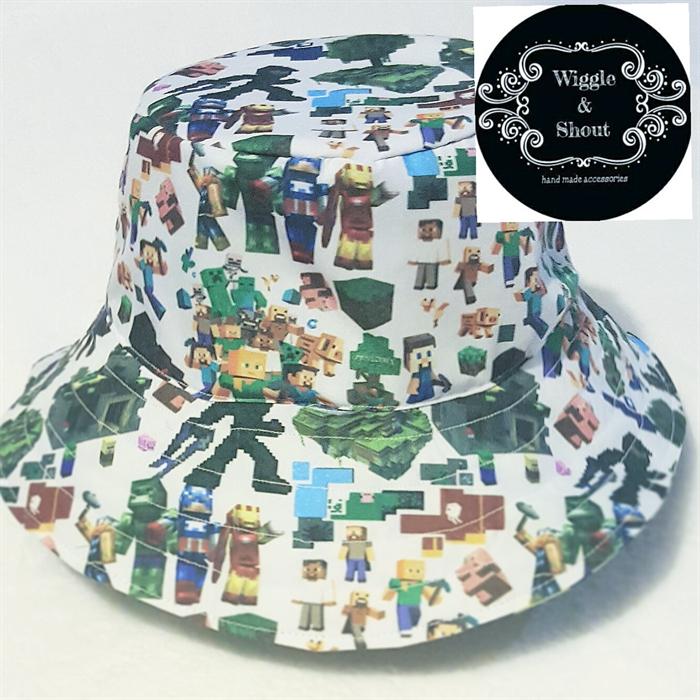 Minecraft Reversable Bucket Hat  939f520e140