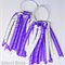 Drop 'Curlz' School Hair Tie (1) - Custom Made in school colors