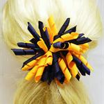 Large 'Curlz' School Hair Clip - Custom Made in school colors