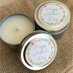 Happy Mother's Day - Soy Candle Tin - Champagne & Strawberries