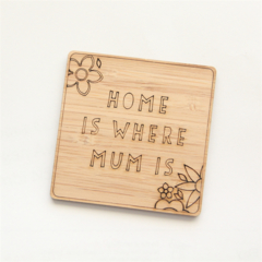 Mother's Day magnet Home is Where Mum Is