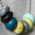 Olivia clay necklace