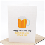 Father's Day Card - Beer Ale - HFD021