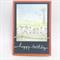 Birthday Card - Water Birds and Windmill, Australiana theme.