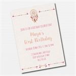 Boho Tribal Printable Custom Invitation