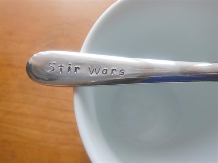 stir wars star wars pop culture teaspoon coffee spoon custom spoon