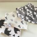 Bears Arrows Crosses Mix Adjustable Baby Bandana Bibs with Bamboo Fleece