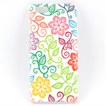 Cute Colourful Floral Design Phone Case - for iPhone & Samsung Galaxy phones