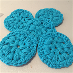 Crocheted Face scrubs