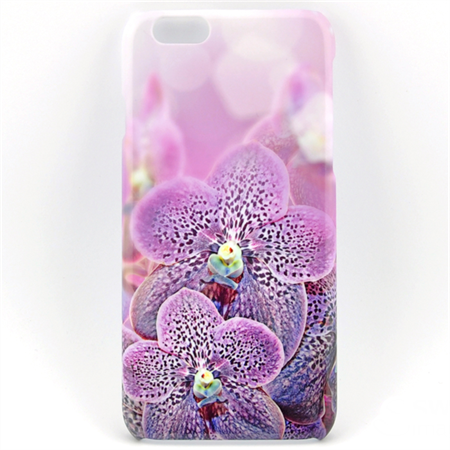 Purple Spotted Orchids design Phone Case - for iPhone & Samsung Galaxy phones