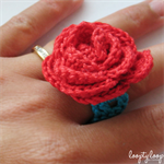 Miniature Rose Ring