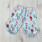 Hot Air Balloon baby harem pants, sizes 00 and 1