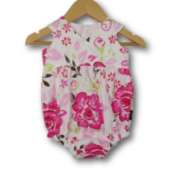 SIZE 000 - Roses Baby Tea Party Romper