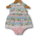 CLEARANCE... Baby Dress Romper - Honey Pot SIZE 00 and 0 Available