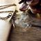 Dandelion wish necklace, botanical necklace