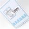 Baby Boy Card - Ribbon Teddies