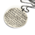 Hand Stamped Graduation Gift, Quote Jewellery, Birthday Gift, Braver Stronger