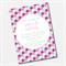Geometric Honeycomb  Printable Custom Invitation