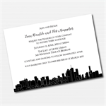 Brisbane Skyline Printable Custom Invitation