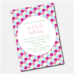 Geometric Honeycomb  Printable Custom Invitation