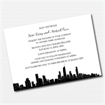 Gold Coast Skyline Printable Custom Invitation