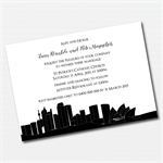 Sydney Skyline Printable Custom Invitation