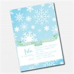 Winter Wonderland Printable Custom Invitation