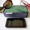 """Speccaddy- """"Brisbane"""" Double glasses case + Triple glasses case"""