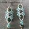 See Sea  Beaded Earrings