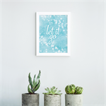 Frozen Inspired Let It Go Print