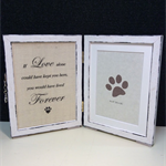Pet loss frame, Pet sympathy gift, Pet memorial, Rainbow bridge gift