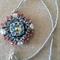 Snow White Pendant Beaded Necklace