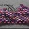 Bubble-gum Beaded Bracelet