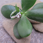 RUBBLE ROCK , STERLING SILVER RING
