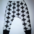 Boys monochrome harem leggings baby boys