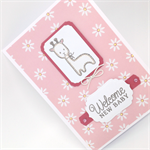 Baby Card - Baby Animal, Giraffe