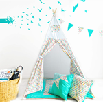Celebration Kids Teepee SET (with poles)