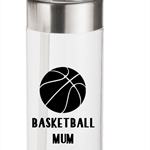 Sports Mum drink bottle label - choose your sport & colour