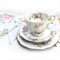 Vintage Bunting - Pretty Multi Floral Flags. High Tea Party, Wedding Decoration
