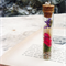 Real Flower Necklace, Glass Vial Necklace