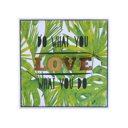 Blank Greeting Card on Love, New Job, Encouragement, Motivation, Just Because