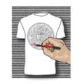 SerendipiTee Colour In T-Shirt - Sun Mandela